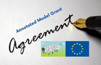 Annotated Model Grant Agreement