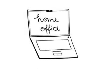 Részleges home office