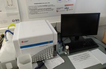 Új Citofluoriméter a TTK Immunológiai Tanszéken
