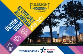 Fulbright ösztöndíjak a 2020/2021-es tanévre
